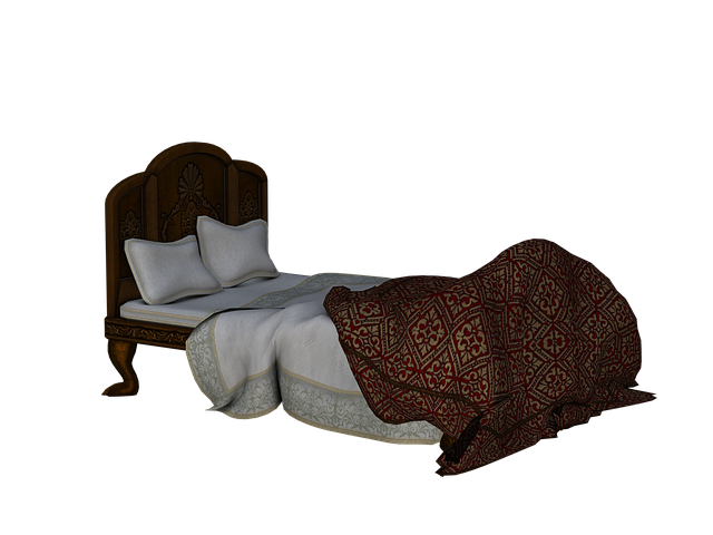 rozestlaná postel