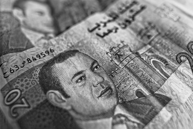 bankovka – dirhamy