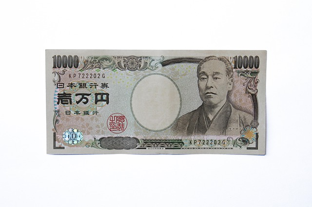japonská bankovka