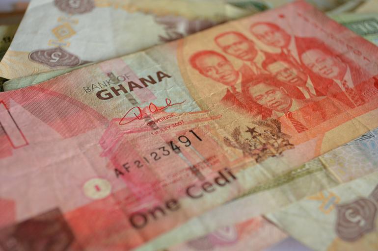 ghanská měna