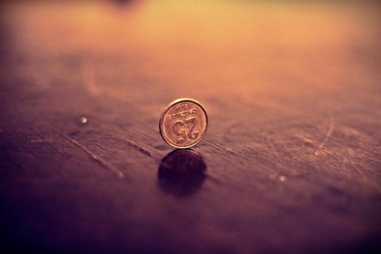 mince na hraně
